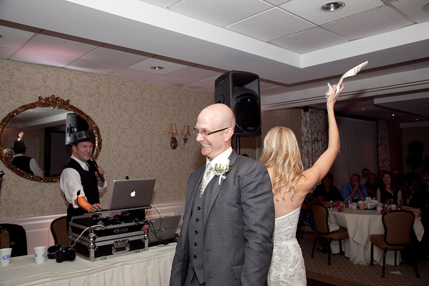 Wedding DJ at Work